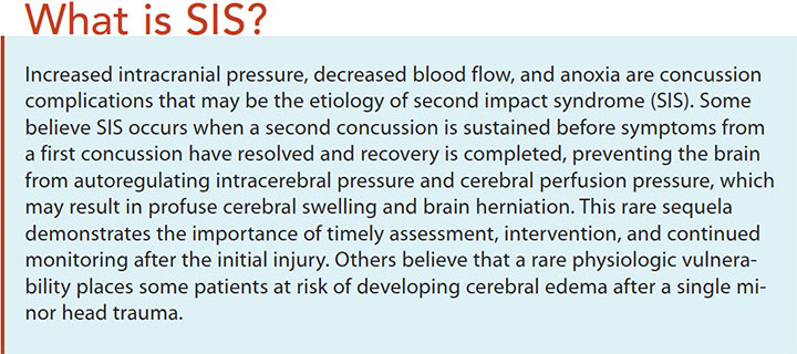 concussions prevention assessment management sis
