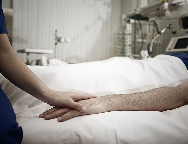 haloperidol improve survival icu patient