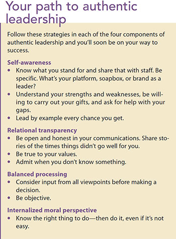 journey authentic leadership path