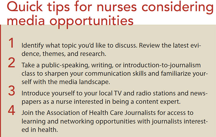 nurse grow role media quick tip