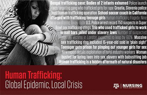 Human Trafficking: Global Epidemic, Local Crisis