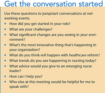 nursing network matter conversation
