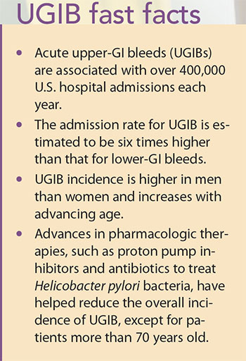 stop acute upper gi bleed ugib fast facts