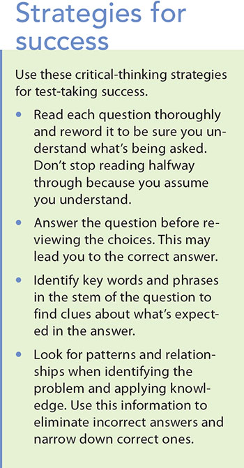 test taking tips strategy success