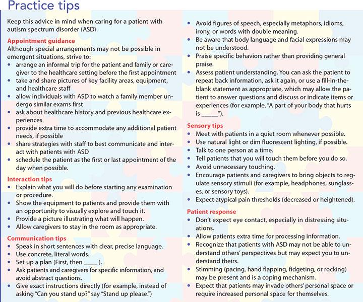 interacting individuals autism spectrum practice tips