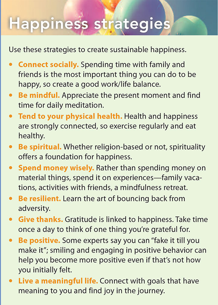 meaning happiness strategies