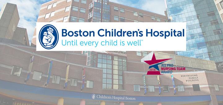 All Pro Nursing Team Awards Boston