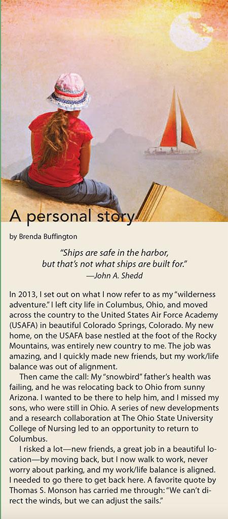 career wellness personal story