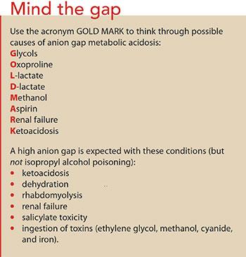 isopropyl alcohol poisoning mind gap - American Nurse Today
