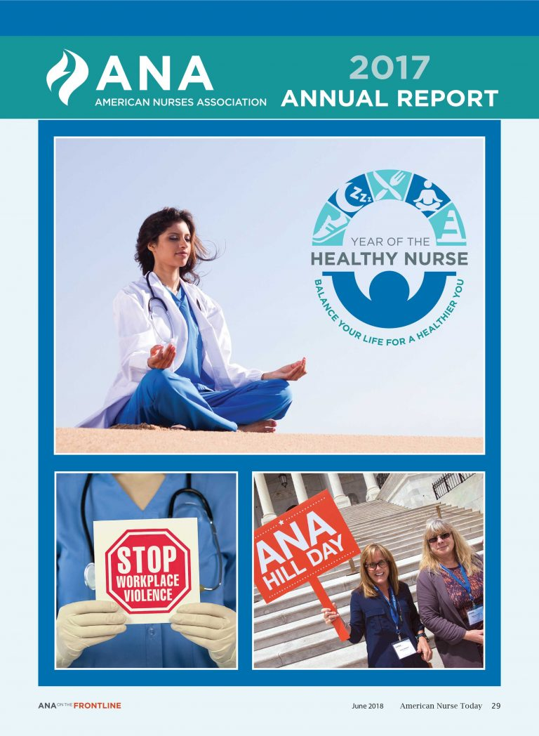 June ANA on the Frontline: 2017 Annual Report