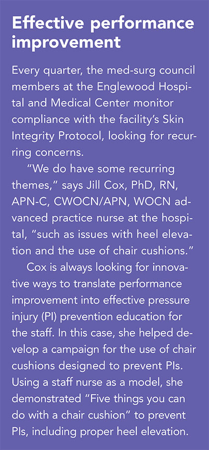 preventing injuries medical surgical patients effective performance improvement