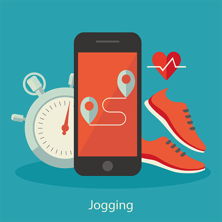 mobile diet exercise apps adolescent weight loss