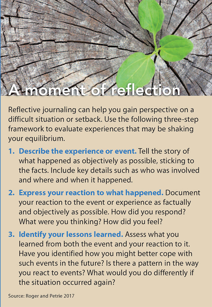 building resiliency reflection