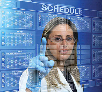 electronic nurse scheduling system post