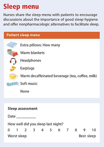 path quieter unit sleep menu