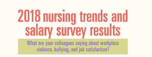 2018 nursing trends and salary survey results