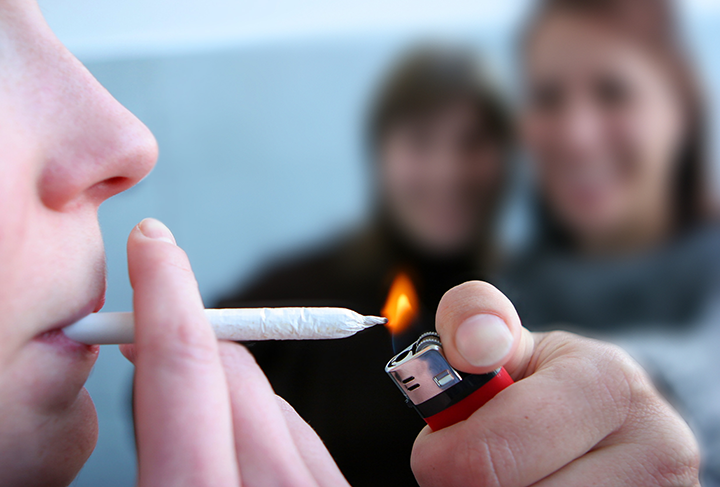 abstinence cannabis improves memory