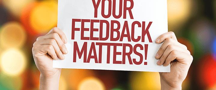 reader feedback November 2018