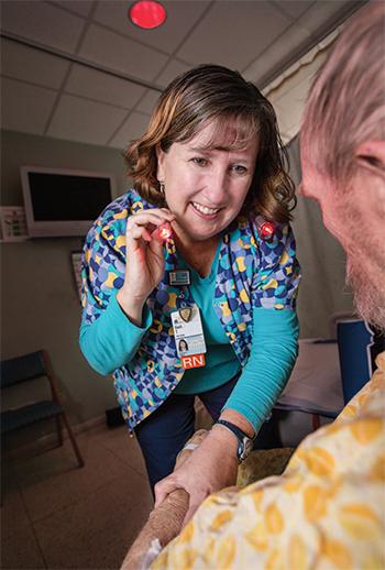 strategies promote patients rest sleep Barbara trotter