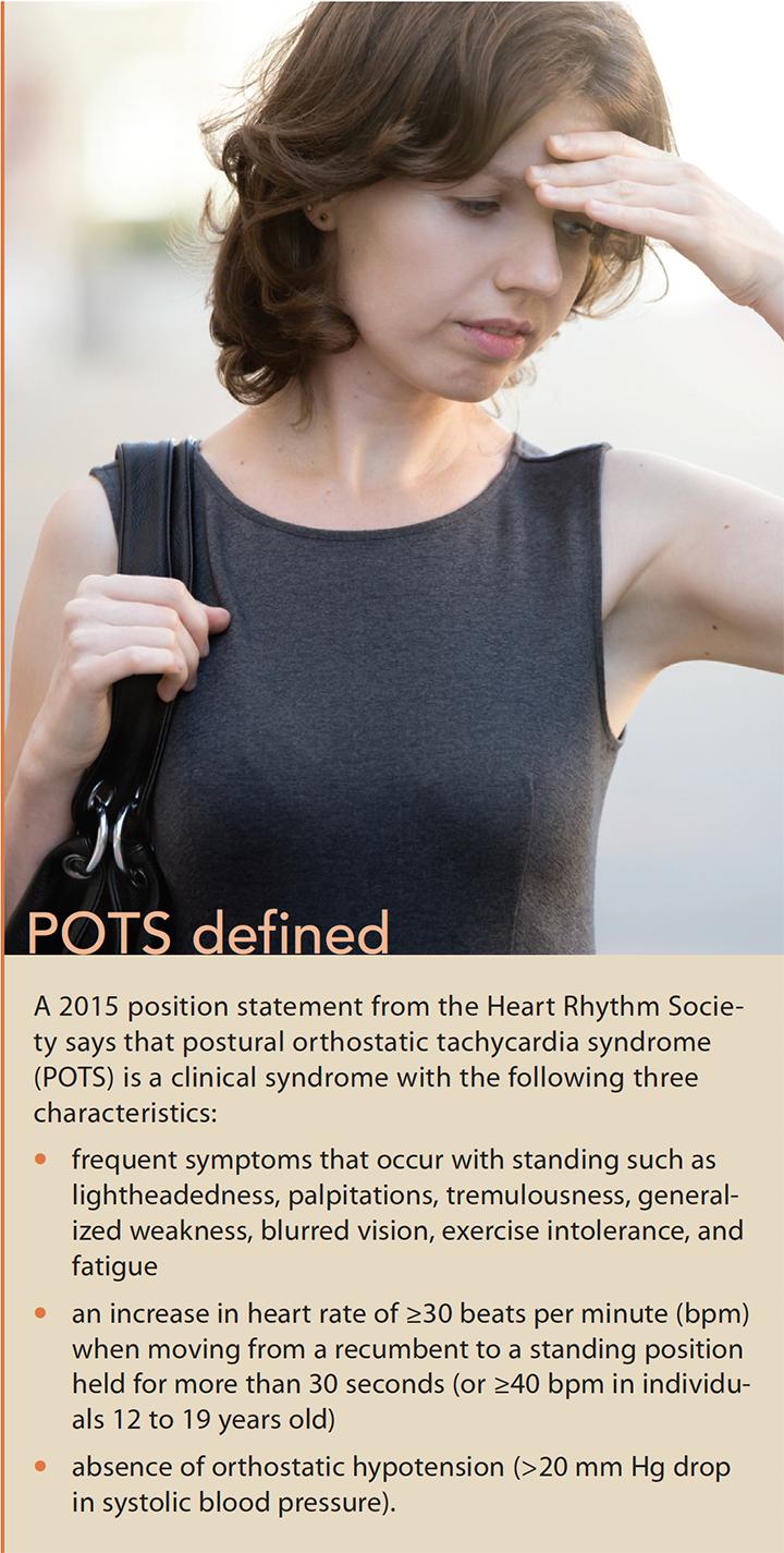 postural orthostatic tachycardia syndrome define