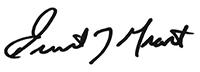 ernest grant president signature ana