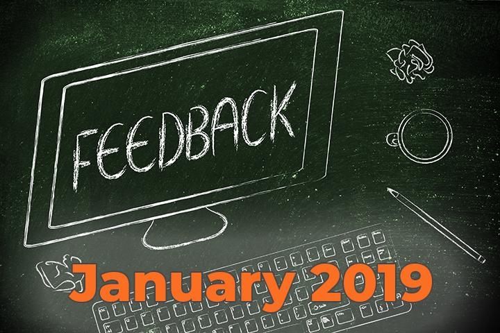 reader feedback 2019