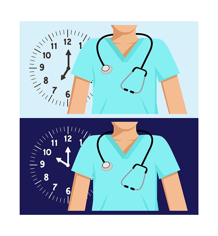 new nurses work weekly overtime