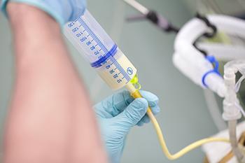tube feeding aspiration post