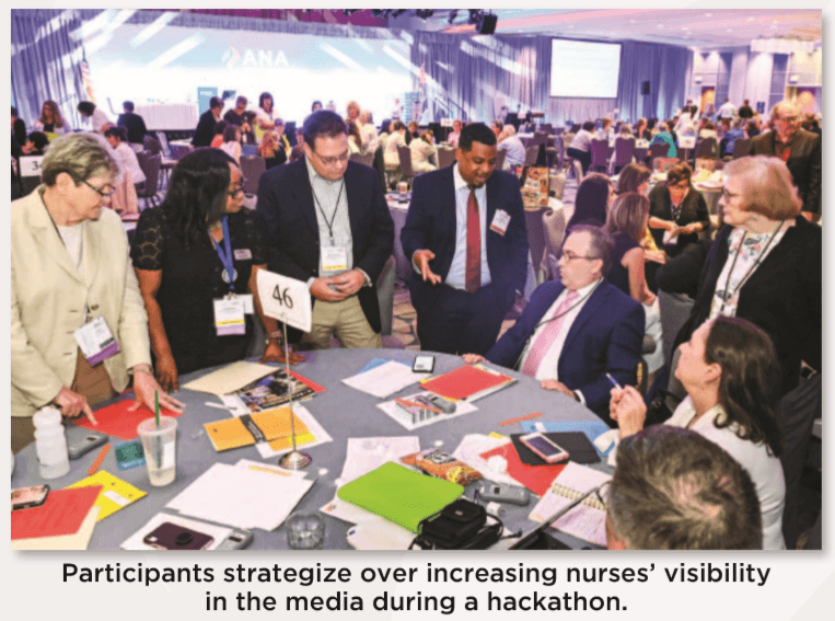Nurses focus on public health and other timely issues
