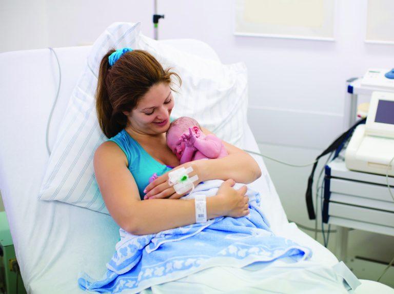 Preventing postpartum newborn falls