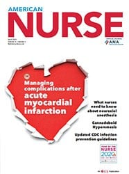 american nurse today ANA journal april