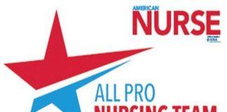 all pro nursing team award logo