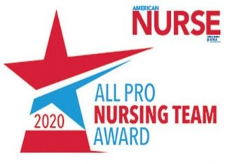 all pro nursing team award logo