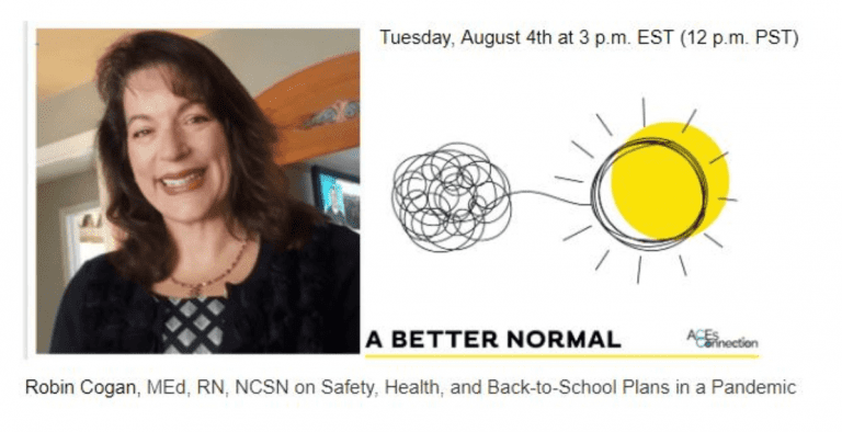 Safety, health, and back-to-school plans in a pandemic with Robin Cogan & A Better Normal