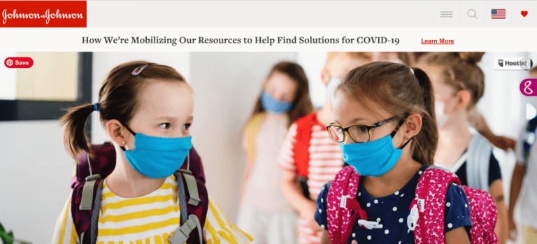 The Relentless School Nurse shares thoughts on COVID-19 with Johnson & Johnson