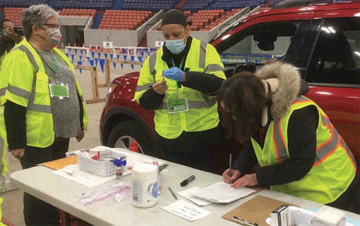 Nurses take the lead on COVID-19 vaccination